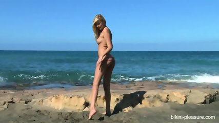 Blonde On The Beach - scene 7