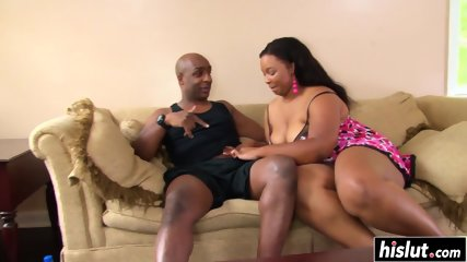 Black dick destroys a tight cunt - scene 1