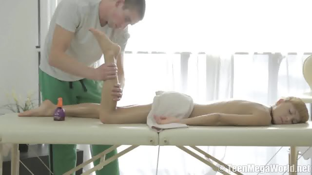 Lisa Fucked During Massage