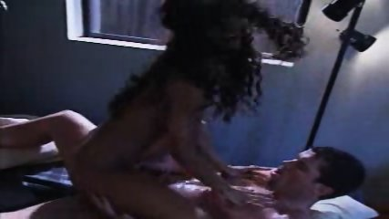 Afro Girl gets fucked hard - scene 4