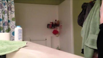 My Teen Girlfriend Taking A Hot Shower - scene 10