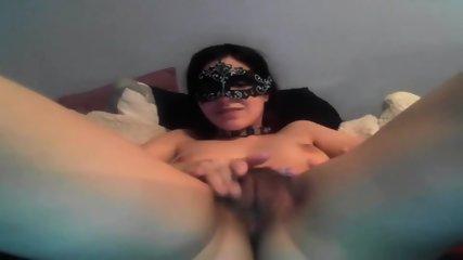 Masked Girl Masturbating - scene 6