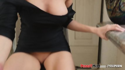 Kinky milf is bummed she didnt score any cock on her night out