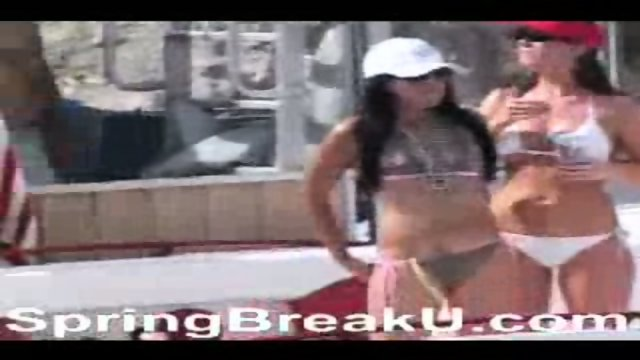 Lake Havasu Spring Break Bikini College Girls