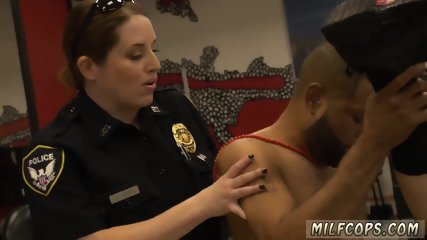 Blonde milf foot job and smoking hot Robbery Suspect Apprehended