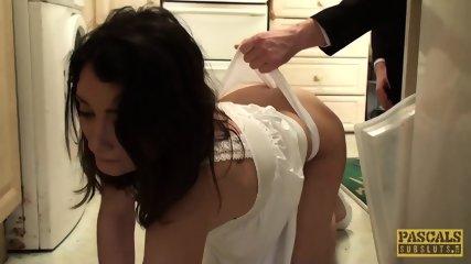 Tender Subslut Valentina Bianco Destroyed By Hung Master - scene 5