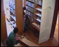 Russian Girl in Library 1 - scene 8