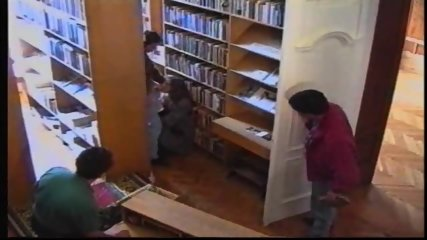 Russian Girl in Library 1 - scene 9