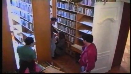 Russian Girl in Library 1 - scene 10