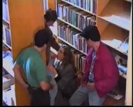 Russian Girl in Library 1 - scene 11