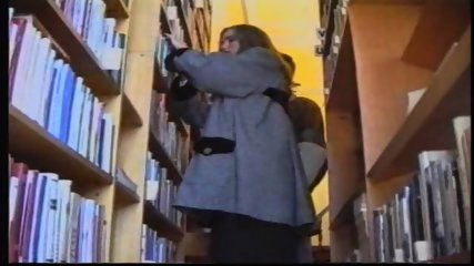 Russian Girl in Library 1 - scene 1