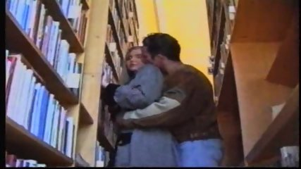 Russian Girl in Library 1 - scene 2