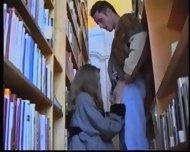 Russian Girl in Library 1 - scene 4