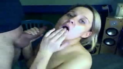 She loves to play with his cum - scene 7