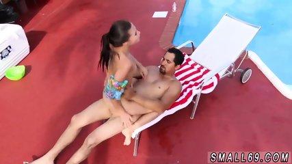 Adorable teen fucked Swimming In Semen