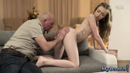 Amateur daddy facial Jessi and this older gentleman were practising language