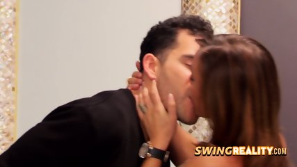 Steamy swingers get together for a meet and greet before party unfolds