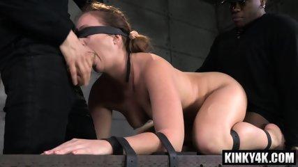 Redhead pornstar bdsm bondage and orgasm
