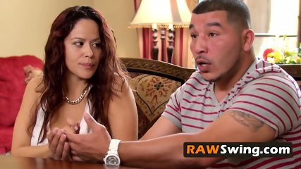 Swinging anticipation makes new swinger couple nervous