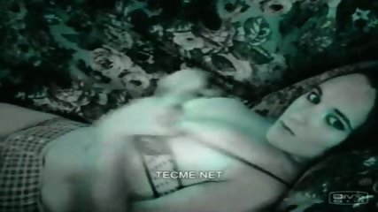Amazing brunette teases on webcam - scene 1