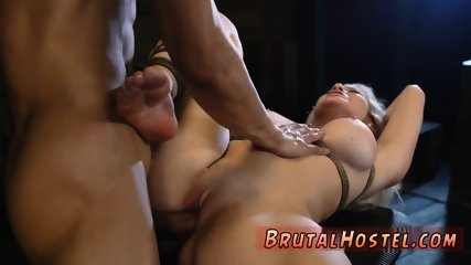 China model bondage and head down Big-breasted light-haired hottie Cristi Ann is on