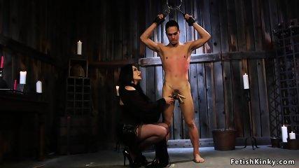 Male anal femdom