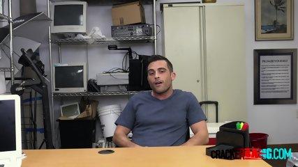 Broke celebrity dude gets banged by horny directors big black cock