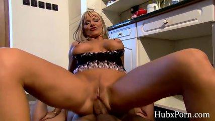 Diana waits for her husband s big cock - scene 12