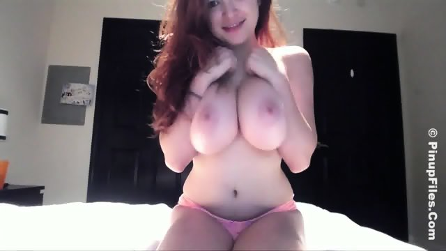 Busty Cam Whore In Action