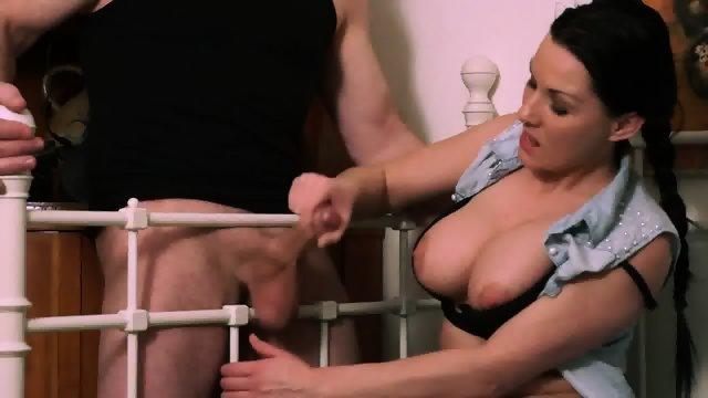 Busty Girl Shakes Dick