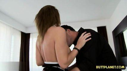European pornstar gaping and creampie