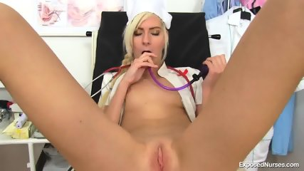 Nice Pussy Of Horny Nurse
