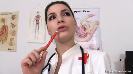 Nurse Plays With Her Vagoo - scene 1