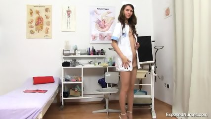 Nurse Shows Her Deep Vagina - scene 3