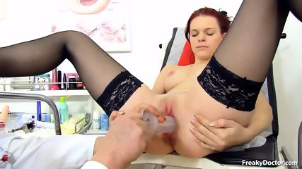 Doctor Takes Care Of His Patient's Pussy - scene 8