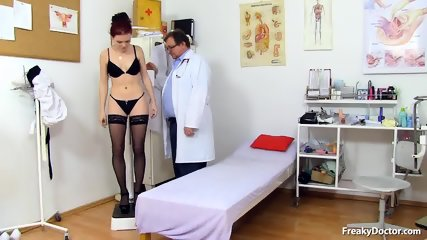 Doctor Takes Care Of His Patient's Pussy - scene 1