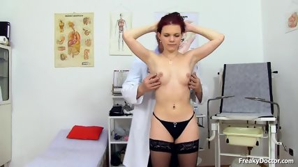 Doctor Takes Care Of His Patient's Pussy - scene 2