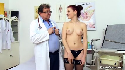 Doctor Takes Care Of His Patient's Pussy - scene 3