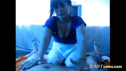 Amateur Asian MILF massage happy ending