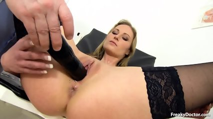 Doctor Takes Care Of Her Pussy - scene 8