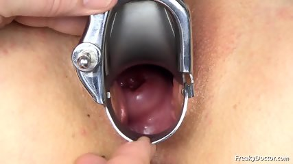 Doctor Takes Care Of Her Pussy - scene 11