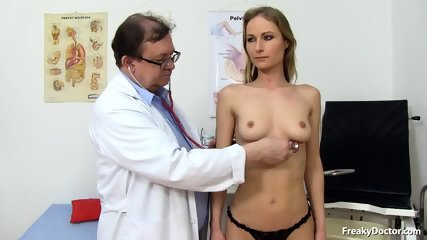 Doctor Takes Care Of Her Pussy - scene 2