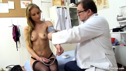 Doctor Takes Care Of Her Pussy - scene 3