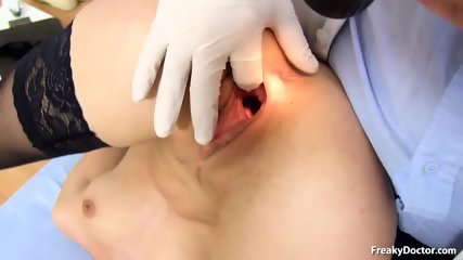 Doctor Takes Care Of Her Pussy - scene 5