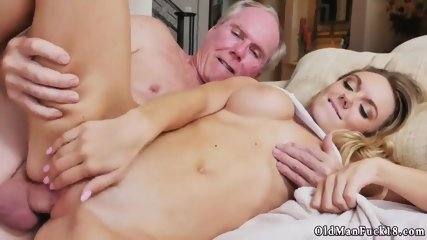 Horny old daddy fucks comrade partner s daughter Molly Earns Her Keep