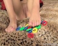 Girl With Playful Feet - scene 1