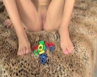 Girl With Playful Feet - scene 10