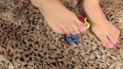 Girl With Playful Feet - scene 11