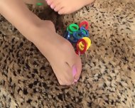 Girl With Playful Feet - scene 12