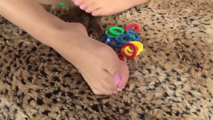 Girl With Playful Feet - scene 12